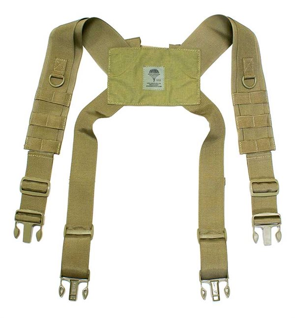 Flat Web H-Shoulder Harness