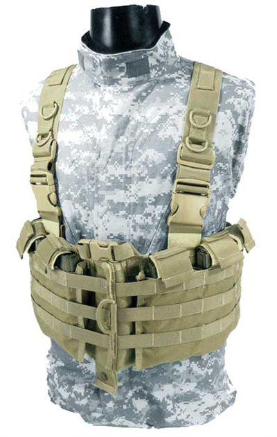 M4 Internal Mag Split Chest Harness w/shoulder straps