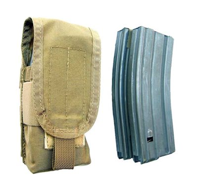M4 Single Pouch Double Mag Flapped