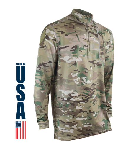 Phase 4 Performance Men's DWR Zip Mock - MultiCam®