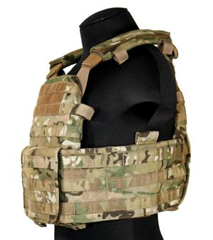 Plate Carrier with Cummerbund