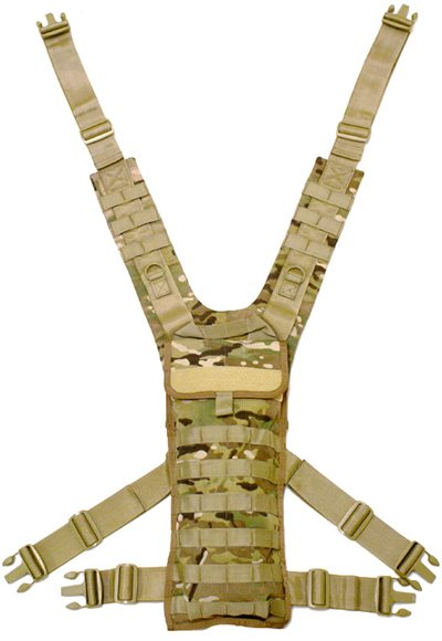 Padded Shoulder Hydration Harness for Hellcat systems