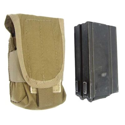M14 Double Mag Flapped Pouch