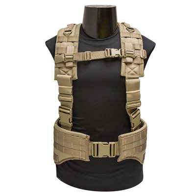 Padded Hybrid Hydration Harness w/Belt