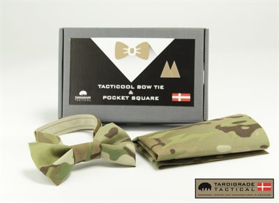 Tacticool Bow Tie & Pocket Square